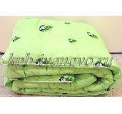 Одеяло облегченное. Бамбук. Полиэстер. 2-спальное.