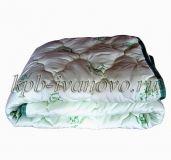 Одеяло облегченное. Бамбук. Тик. 1,5-спальное.